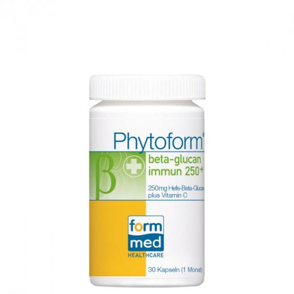 Phytoform® beta-glucan immun 250+