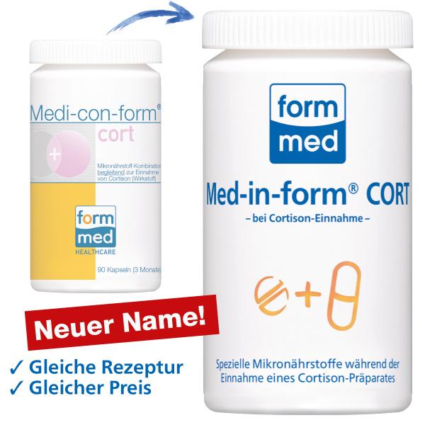 Med-in-form® CORT (ehem. Medi-con-form®)