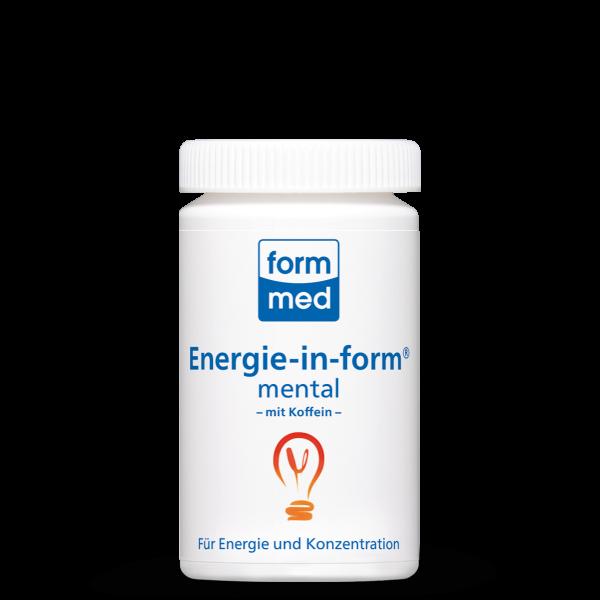 Energie-in-form® mental (mit Koffein)
