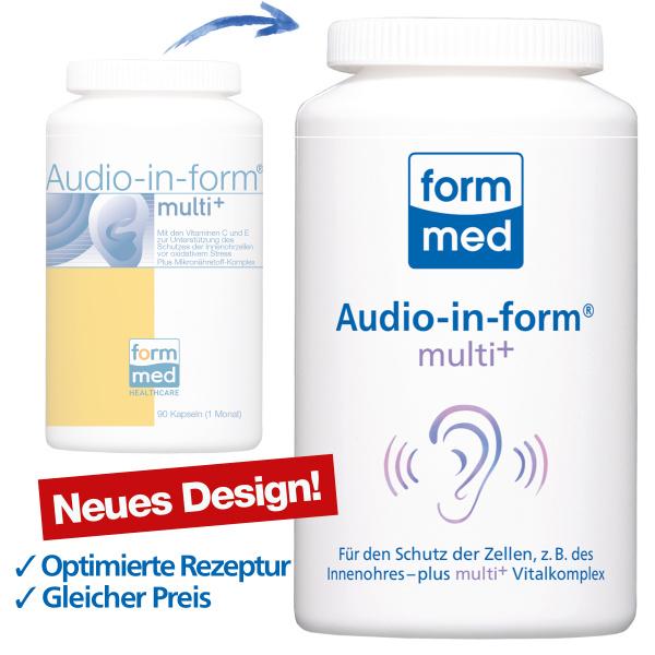 Audio-in-form® multi+