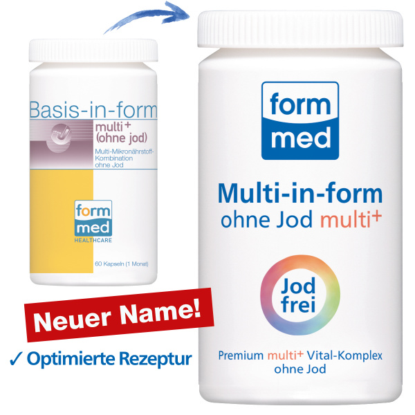 Multi-in-form® ohne Jod multi+