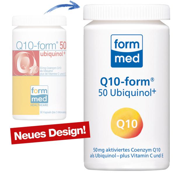 Q10-form® 50 Ubiquinol+