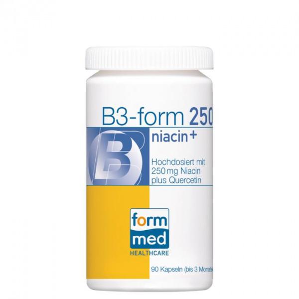 B3-form® 250 niacin+
