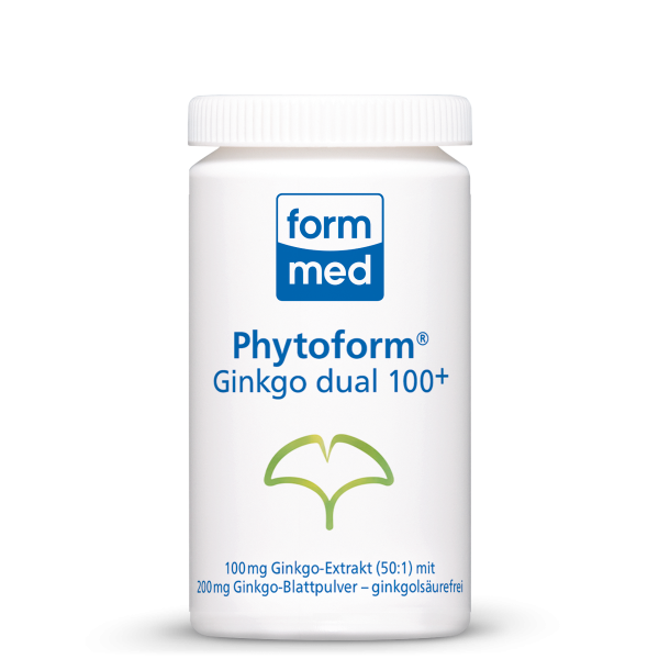Phytoform® Ginkgo 100 dual+