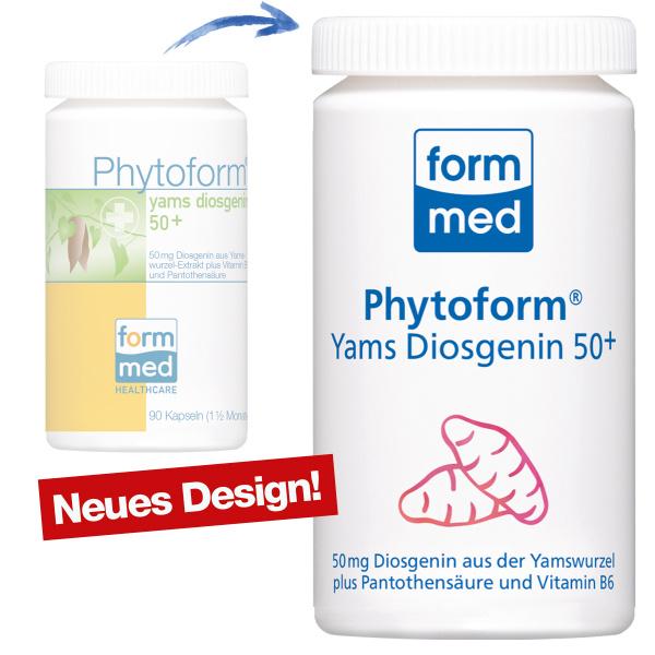 Phytoform® Yams Diosgenin 50+