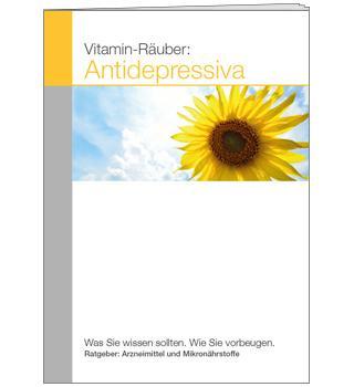 Ratgeber Vitamin-Räuber: Antidepressiva (A6)