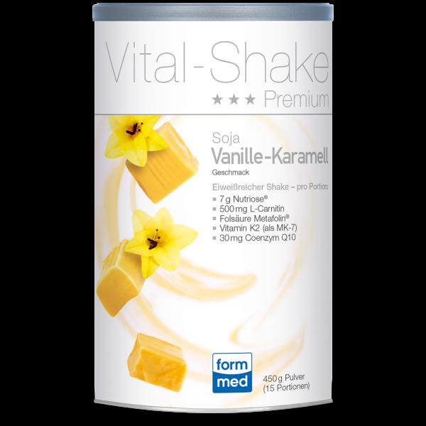 Vital-Shake Premium Soja Vanille-Karamell