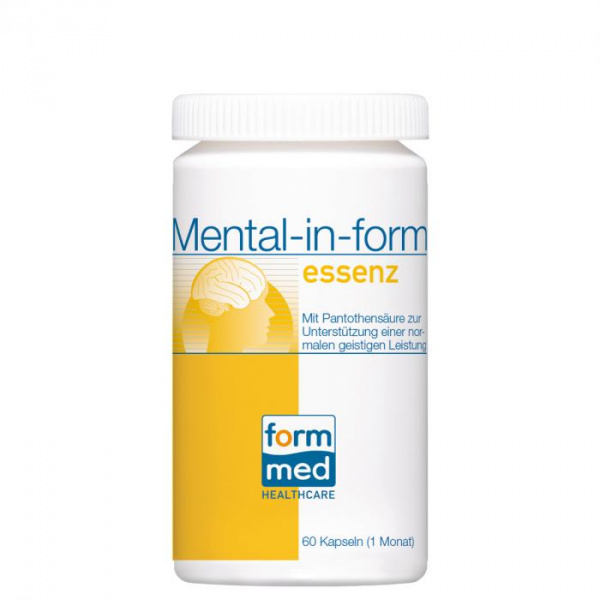 Mental-in-form essenz