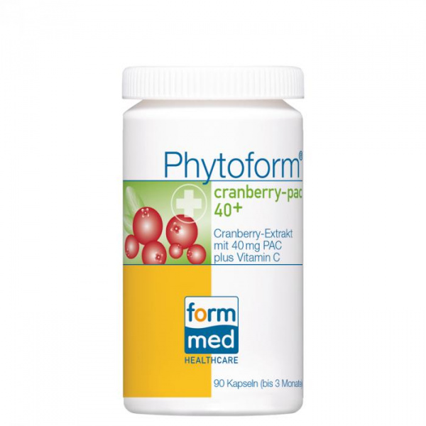 Phytoform® cranberry-pac 40+