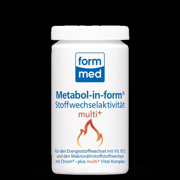 Metabol-in-form® Stoffwechselaktivität multi+