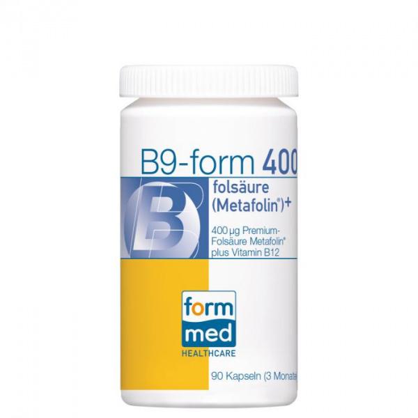 B9-form® 400 folsäure (Metafolin®)+