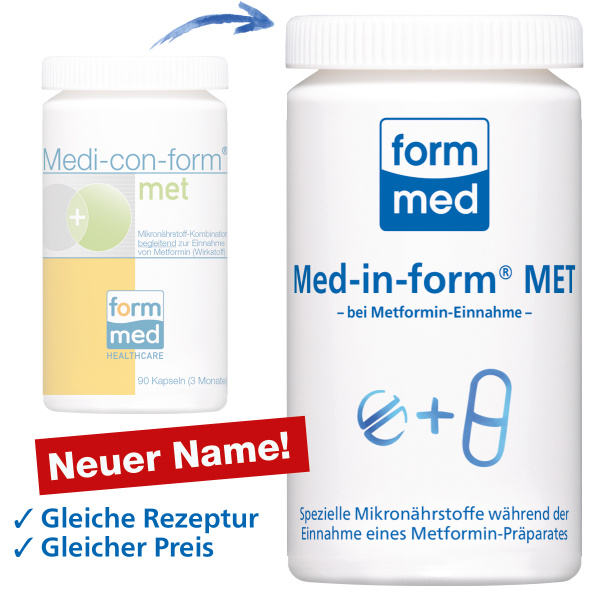 Med-in-form® MET (ehem. Medi-con-form®)
