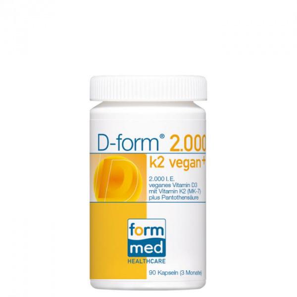 D-form® 2.000 k2 vegan+