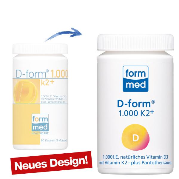 D-form® 1.000 K2+