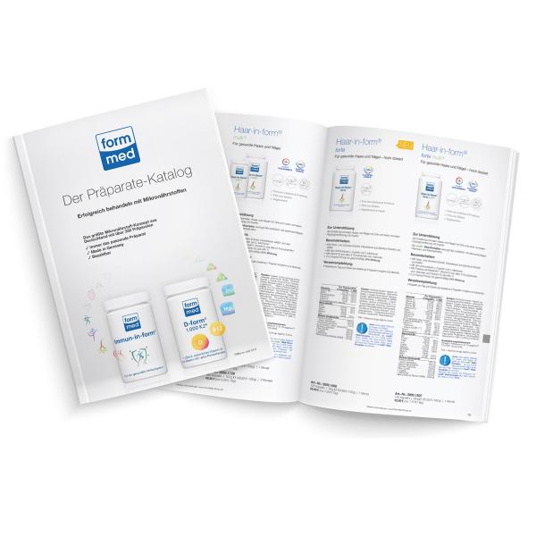 Der neue Präparate-Katalog von FormMed