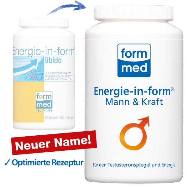 Energie-in-form® Mann & Kraft (ehem. libido)