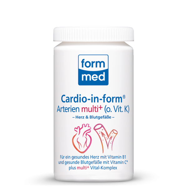 Cardio-in-form® Arterien multi+ (ohne Vitamin K)