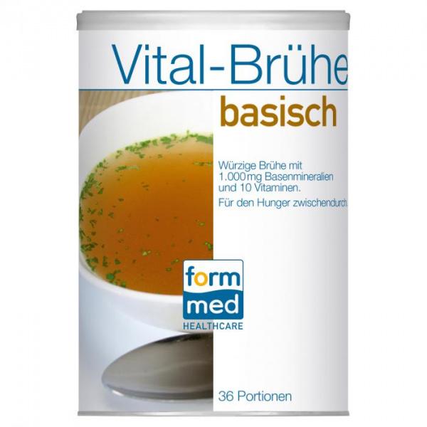 Vital-Brühe basisch