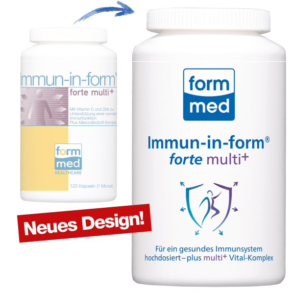 Immun-in-form® forte multi+
