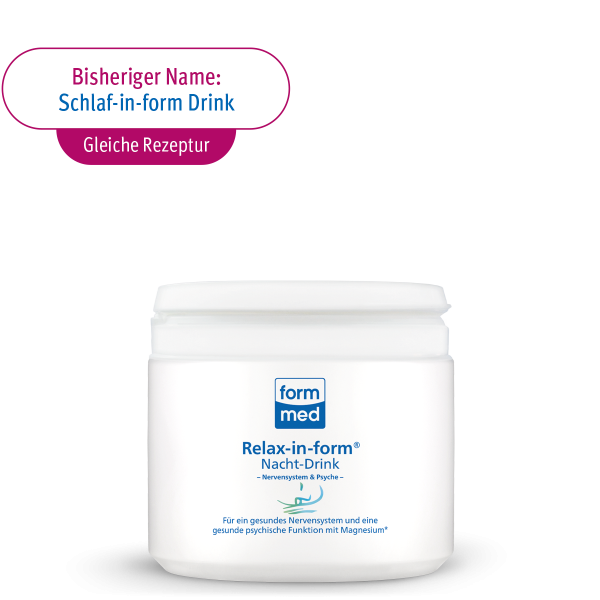 Relax-in-form® Nacht-Drink