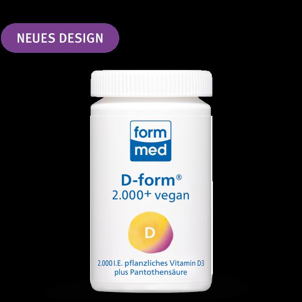 D-form® 2.000+ vegan