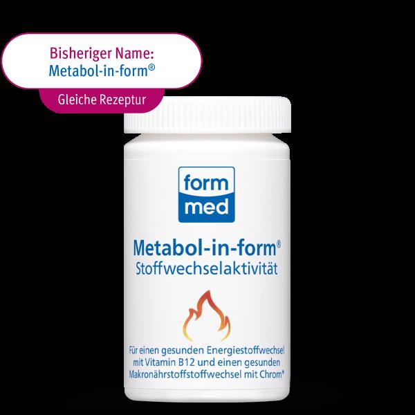 Metabol-in-form® Stoffwechselaktivität