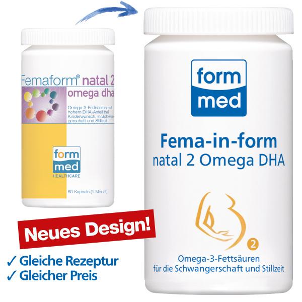 Fema-in-form® natal 2 Omega DHA