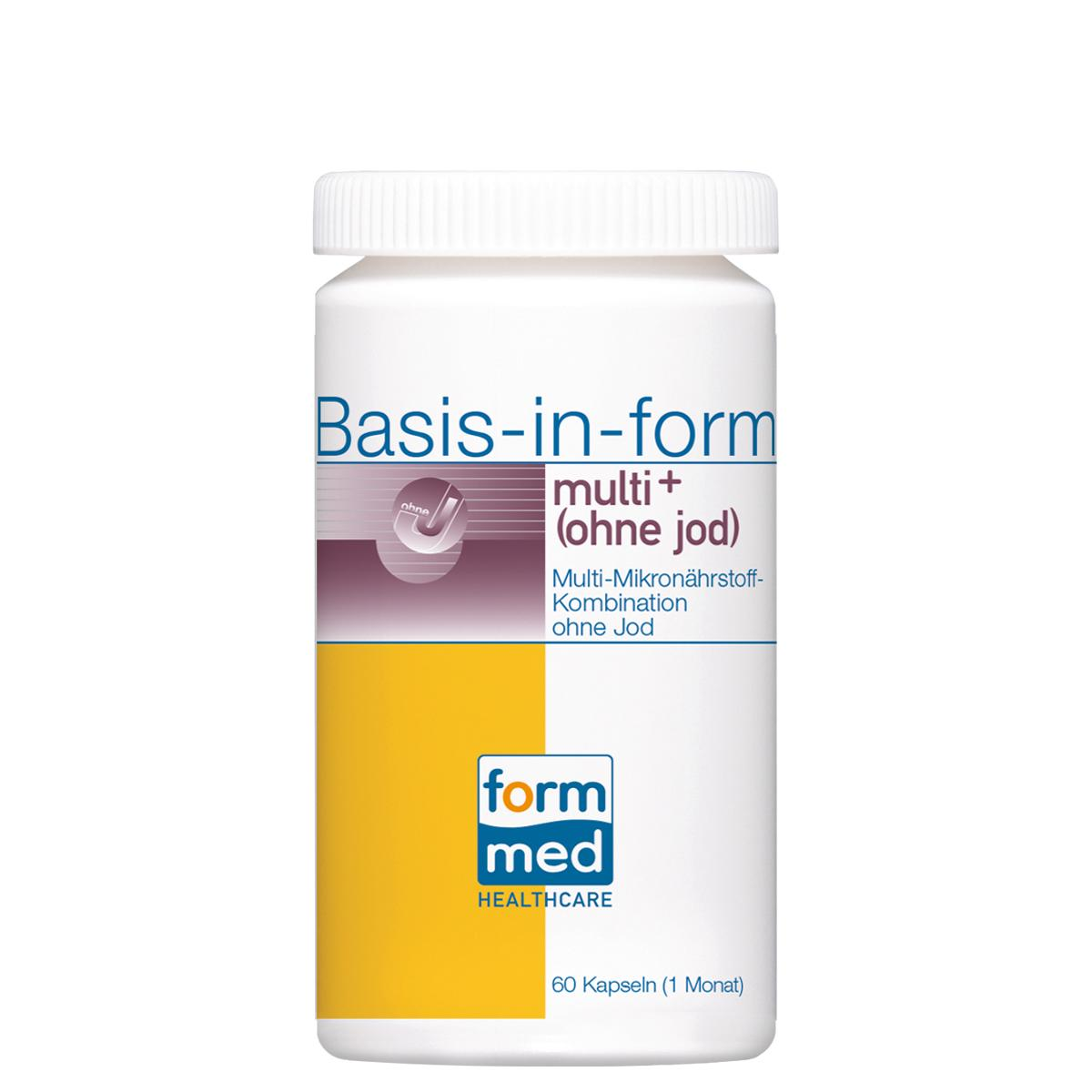 Basis-in-form® multi+ (ohne jod)