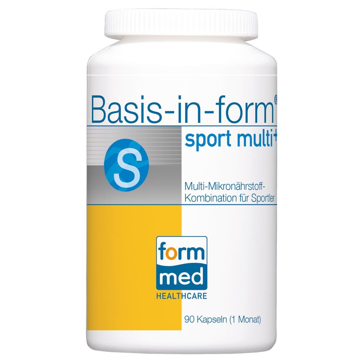 Basis-in-form® sport multi+