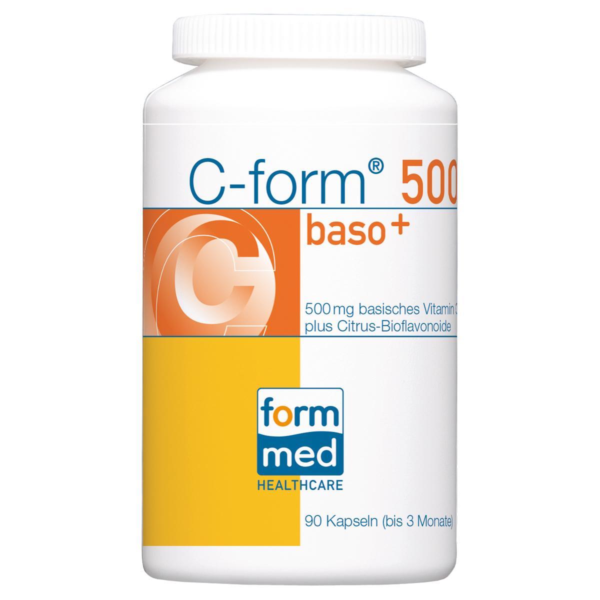 C-form® 500 baso+ | C | Präparate A-Z | FormMed HealthCare AG ...