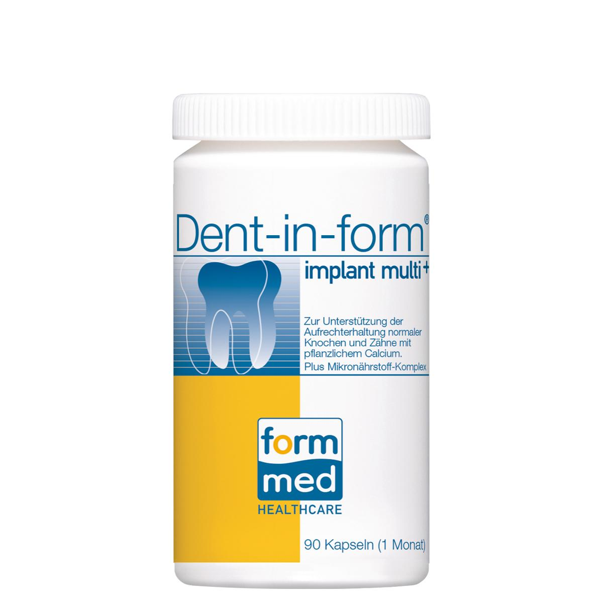 Dent-in-form® implant multi+