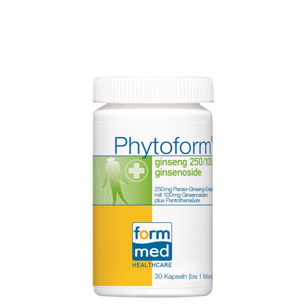 Phytoform® ginseng 250/100 ginsenoside