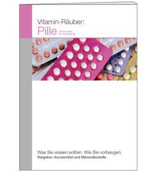 Ratgeber Vitamin-Räuber: (Verhütungs-)Pille (A6)
