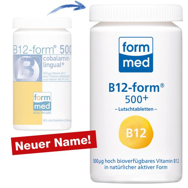 B12-form® 500+ (Lutschtablette)