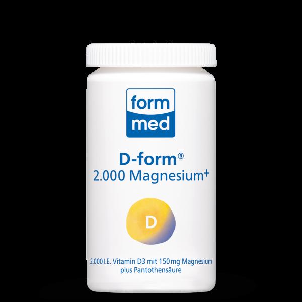 D-form® 2.000 Magnesium+