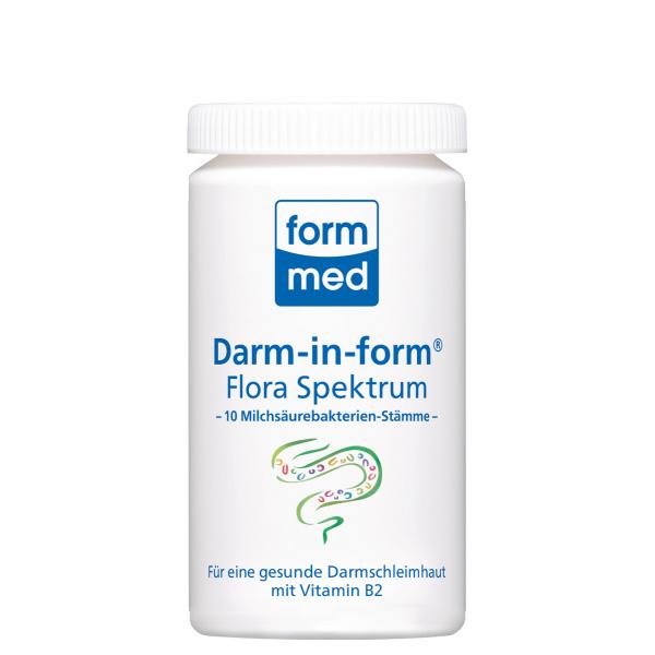 Darm-in-form Flora Spektrum