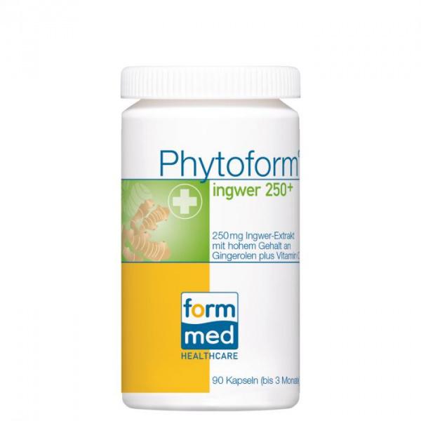 Phytoform® ingwer 250+