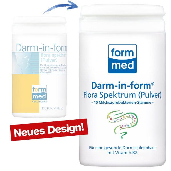 Darm-in-form Flora Spektrum (Pulver)