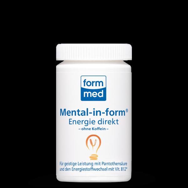 Mental-in-form Energie direkt (ohne Koffein)