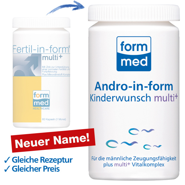 Andro-in-form® Kinderwunsch multi+