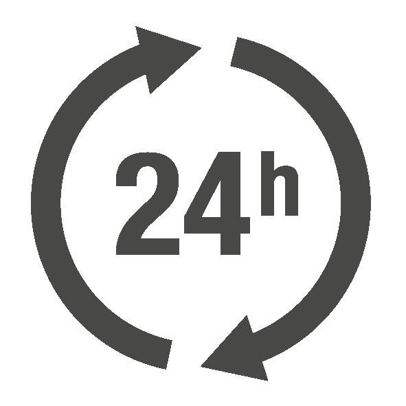 Gleichmäßiger Wirkspiegel (24h)