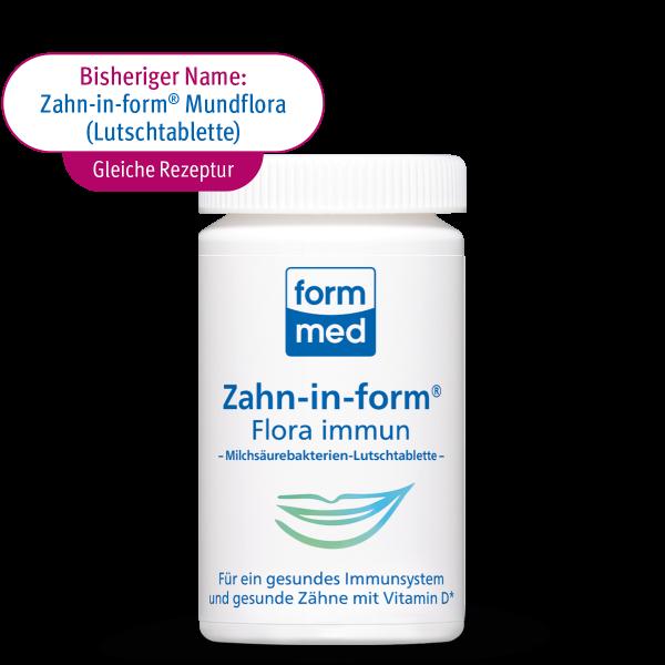 Zahn-in-form Flora immun (Lutschtablette)