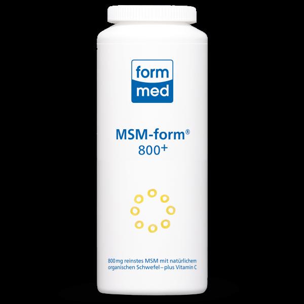 MSM-form® 800+