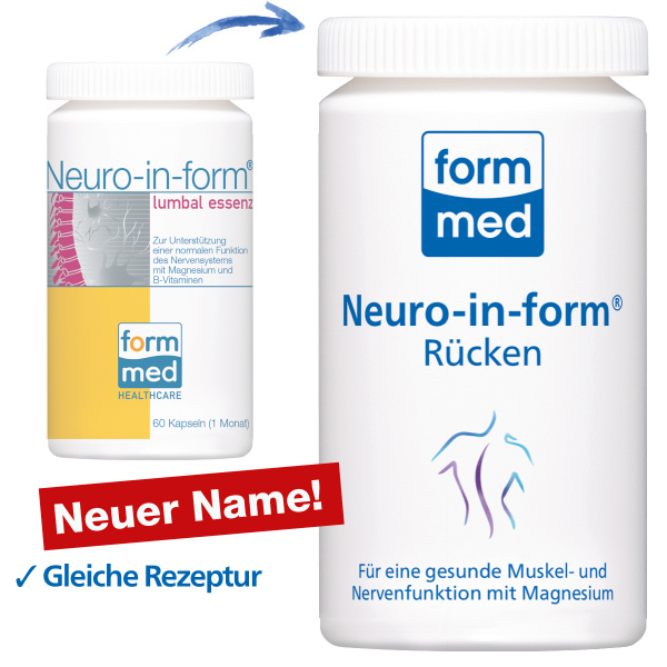 Neuro-in-form® Rücken (ehem. lumbal essenz)