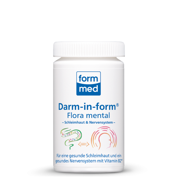 Darm-in-form Flora mental