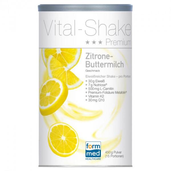 Vital-Shake Premium Zitrone-Buttermilch