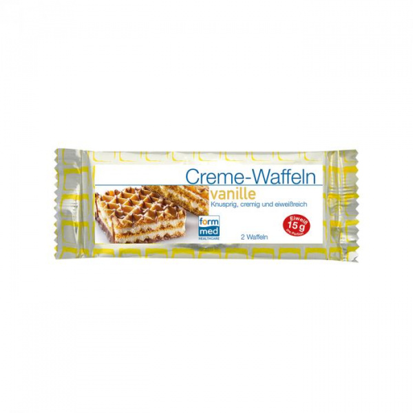 Creme-Waffeln Vanille