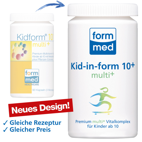 Kid-in-form 10+ multi+